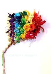 Quilled Pride Bouquet by El-Sharra
