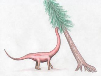 Grandfather Cetiosaurus gets fed by ijreid