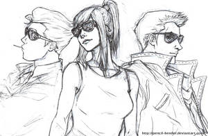 Sporting Shades by Pencil-Bender