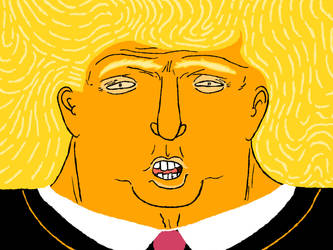 Donald Trump by BobbyMcSponge