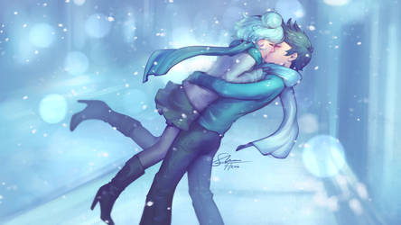 Together in Winter by oshRED