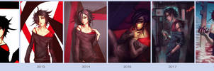 Before and After: Cherry 2018 by oshRED