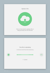 Daily UI #031 - File Upload by Terrance8d