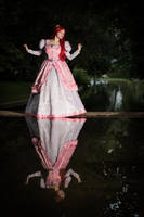 Ariel - The Little Mermaid - Standing on water by LadyRoseTea