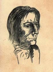 Mellow Post War Snape by RaShelli