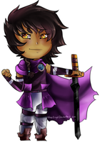 Commission |Chibi Ender by CyberEngel