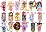 [OPEN] 60 points Adopts by CyberEngel