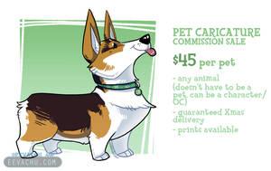 Pet Caricature Sale by Eevachu