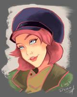 Anastasia Fanart by EinysDesign