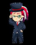 [Commission] Sir Fancy Squidkid by DragonBreath75