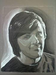 Finished Self Portrait by Lakesidesoccer