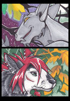 September ACEOs by Aspendragon