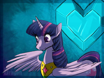Twilight and the Crystal Heart by Aspendragon