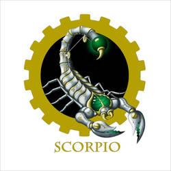 Steampunk Zodiac - Scorpio by flamarahalvorsen