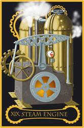Steampunk tarot of the Sun by flamarahalvorsen