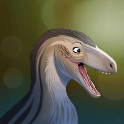 Utahraptor by kepyle2055