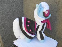 PHOTO FINISH custom plush pony by calusariAC
