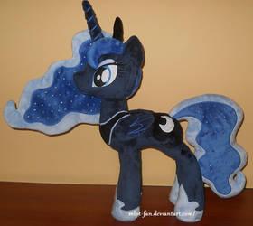 Princess Luna minky v2 by calusariAC