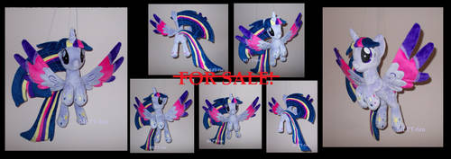 Ooak flying PRINCESS TWILIGHT SPARKLE by calusariAC
