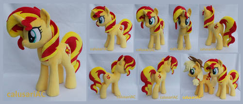 Sunset Shimmer commission by calusariAC