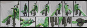Queen Chrysalis commission by calusariAC