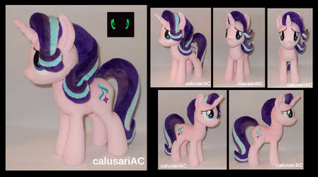 Starlight Glimmer (glowing eyes) by calusariAC