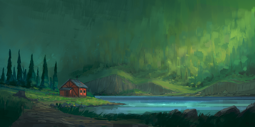 Little Red House by Deadmeat1555