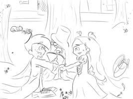 _Wedding_ by 2numagirls