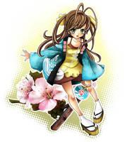 XIV Salo Manga BCN poster by Ninamo-chan