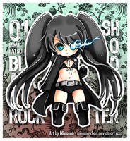Chibi Miku - BlackRock Shooter by Ninamo-chan