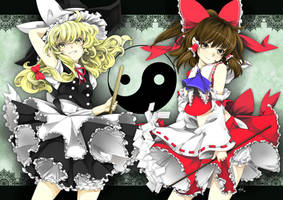 Girls are now preparing... by Ninamo-chan