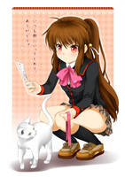 Rin Natsume - commission by Ninamo-chan