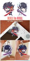 KLK - clear acrylic charms by Ninamo-chan