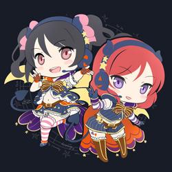 NicoMaki - Halloween Ver. by Ninamo-chan