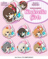 iM@S Cinderella Girls ~crane game~ by Ninamo-chan