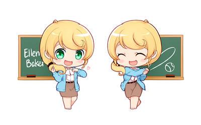 Ellen-sensei by Ninamo-chan