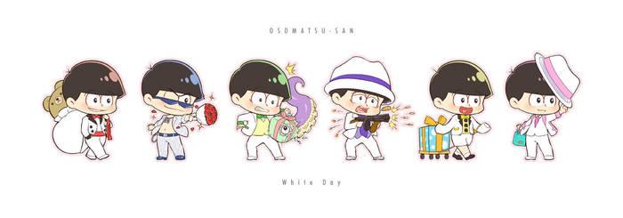 Osomatsu-san ~White Day ver.~ by Ninamo-chan