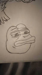 pepe the frog by megatanklord