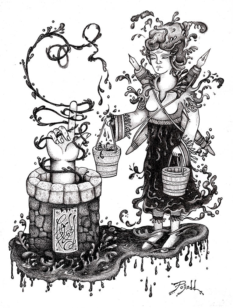 Well of Ink by poxodd