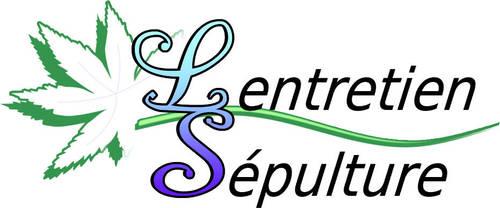 Entretien sepulture logo by andromelia