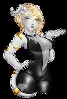Commission: Aura by Kishera