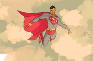 the superman by frankenart