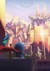 Robot Wars by Darkmuleth