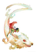 Atreyu and Fujur by Ivernalia