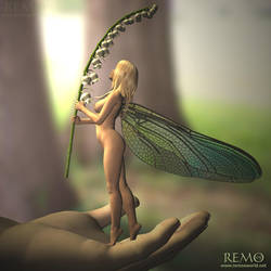 Lilly of the valley fairy by Cyndii007