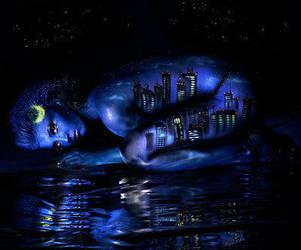 Nightime - Body Art by Cyndii007