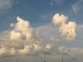 Clouds by thrak-stock