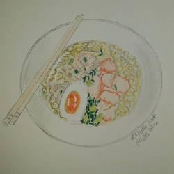 Noodle Soup by Loline