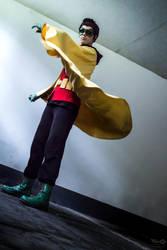 Damian Wayne - Batman II by NobodyRoxasXIII