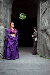 Sansa and Arya Stark - Children of the North by NobodyRoxasXIII